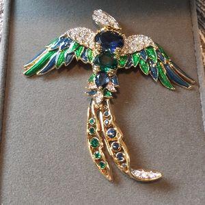 Nolan Miller Bird of Paradise Pin